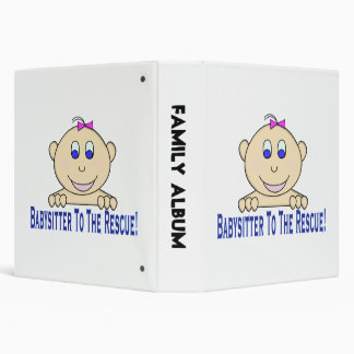 Babysitter To The Rescue 3 Ring Binder