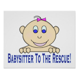Babysitter To The Rescue Poster