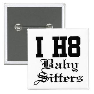 babysitters pinback button