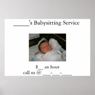 Babysitter's Poster