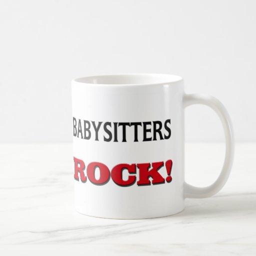 Babysitters Rock Classic White Coffee Mug