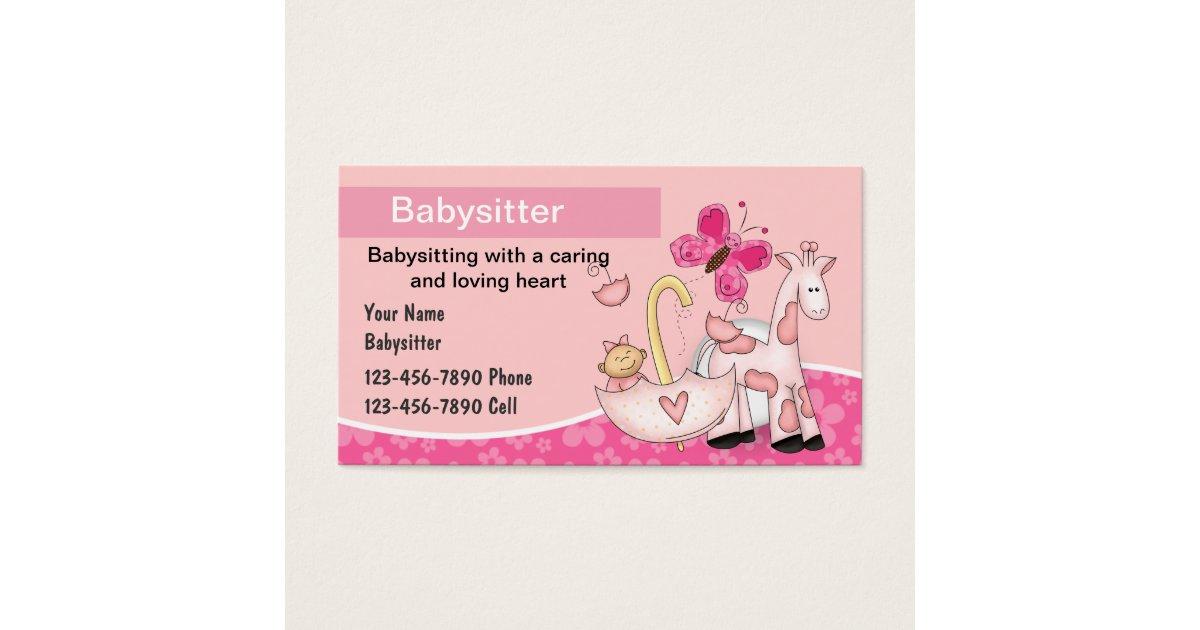 Child Care Business Cards & Templates | Zazzle