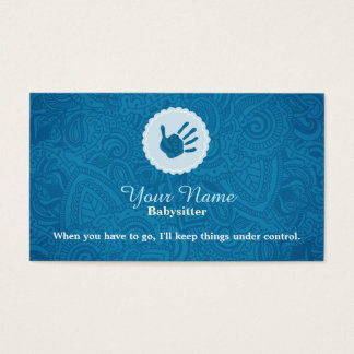Preschool Kids Business Cards Templates Zazzle