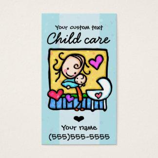 babysitting child care nanny daycare 2 business card