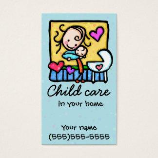 Babysitting Child Care Nanny Daycare Business Card