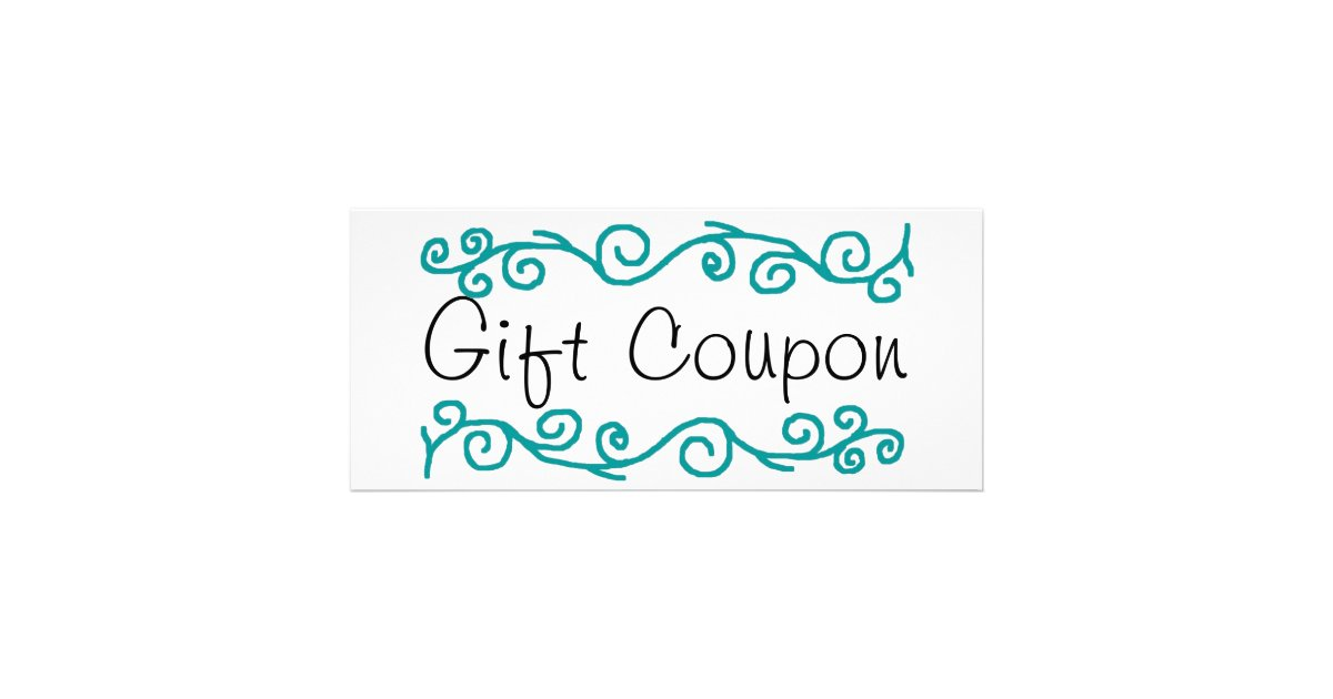 Babysitting Coupon Rack Card  Zazzle