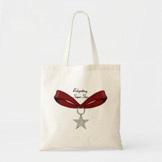 Babysitting Super Star Tote Bag