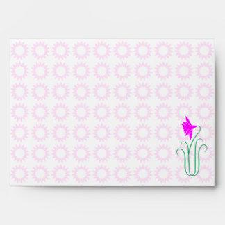 BabySoft BabyPink  Star Sparkle Pattern Envelope