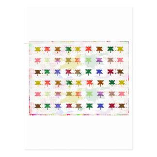 Babysoft Butterfly Patterns for Adults Postcard
