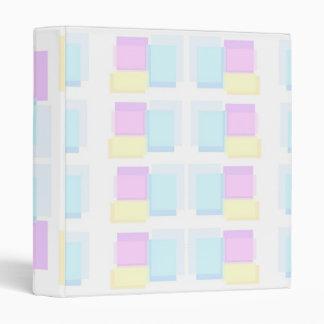 BabySoft Color Sticky Stacks Pattern Binder
