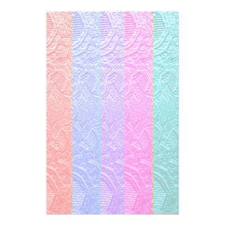 Babysoft Spectrum : Silver Foil Embossed Artwork Stationery