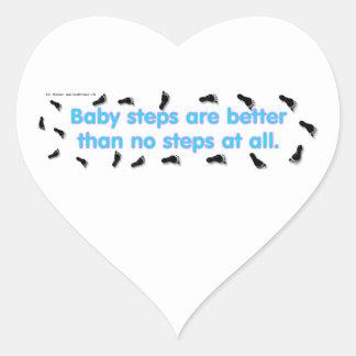 BabySteps Heart Sticker