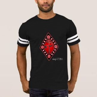 babyTHUG Red Diamond Black Football T-Shirt