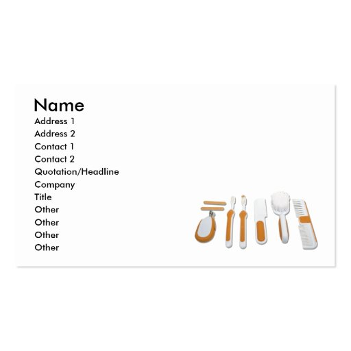 BabyToiletries101610, Name, Address 1, Address ... Business Cards