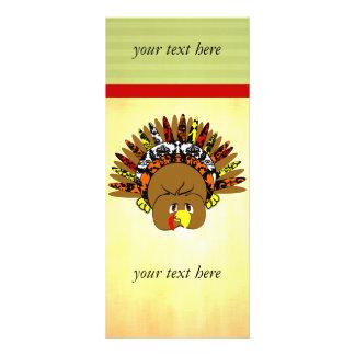 babyturkeycolorsdamaskcircles full color rack card