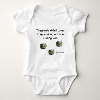 Babywear del bebé de 6 meses polera
