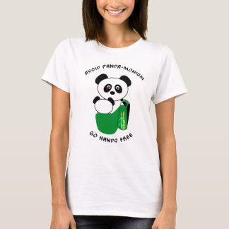 Babywearing Panda - Avoid Panda-monium T-Shirt