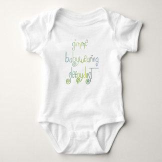 Babywearing Sleepydust necesario Body Para Bebé