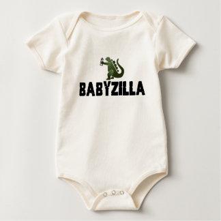 babyzilla baby bodysuit