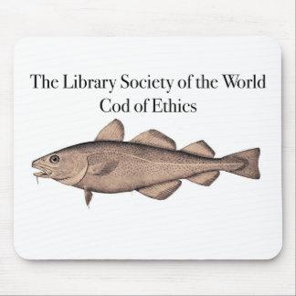 Bacalao de LSW del cojín de ratón de los éticas Alfombrilla De Ratón