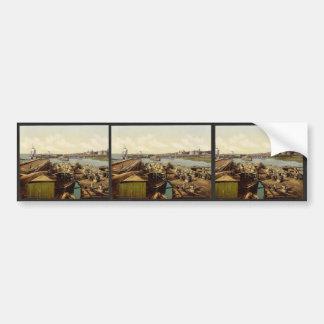 Bacalaos del cargamento, arcángel, península de co pegatina de parachoque