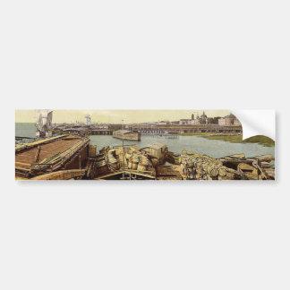 Bacalaos del cargamento, arcángel, península de co etiqueta de parachoque