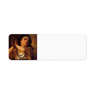 Bacante de Maria Cassatt- Etiqueta De Remite
