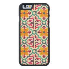 Bacardi Spanish Tile Carved Maple Iphone 6 Case at Zazzle