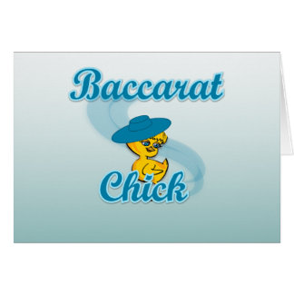 Baccarat Chick #3 Card