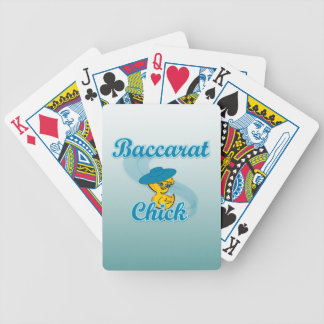 Baccarat Chick #3 Deck Of Cards
