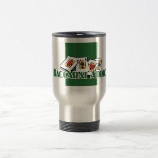 Baccarat travel mug