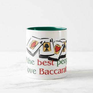 Baccarat two tone mug