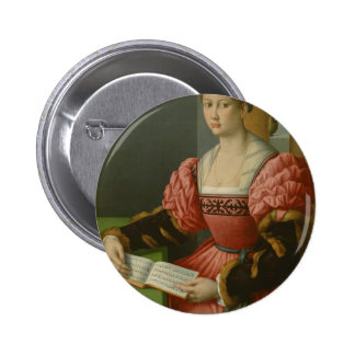 Bacchaccia -Portrait of a Woman with a Book of Mus Pins