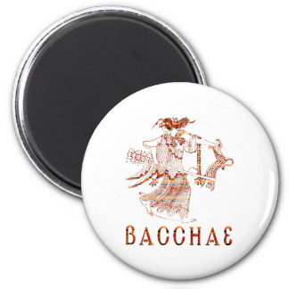 Bacchae 2 Inch Round Magnet