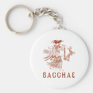 Bacchae Basic Round Button Keychain