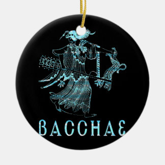 Bacchae Ceramic Ornament