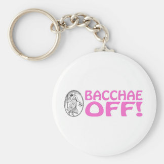 Bacchae Off Keychain