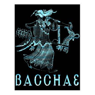 Bacchae Postcard