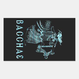 Bacchae Rectangular Sticker
