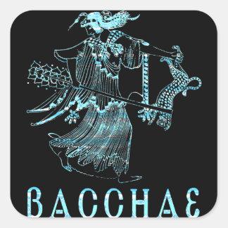 Bacchae Square Sticker
