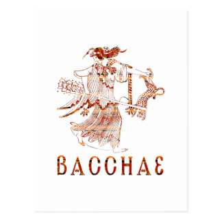 Bacchae Tarjeta Postal