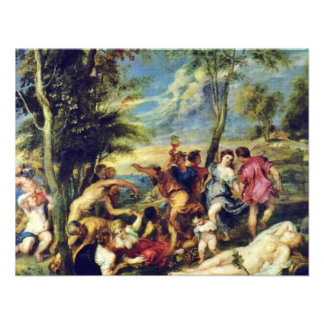 Bacchanal At Andros After A Painting Invite