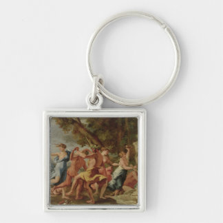 Bacchanal before a Herm, c.1634 Keychains