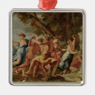 Bacchanal before a Herm, c.1634 Metal Ornament