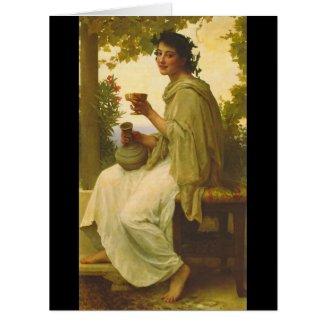 Bacchante 1894 card
