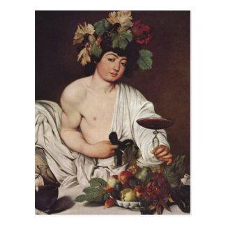 Bacchus 1593-159 de Miguel Ángel Merisi DA Caravag Tarjetas Postales