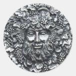 Bacchus 1 classic round sticker