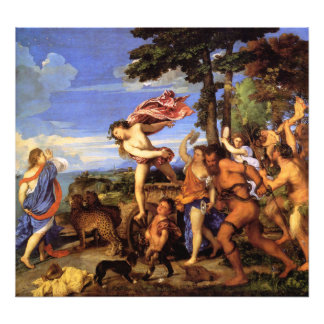 Bacchus and Ariadne by Titian Art Photo