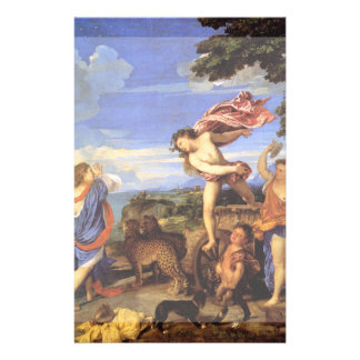 Bacchus and Ariadne by Titian Flyer