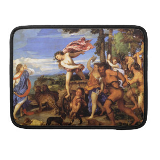 Bacchus and Ariadne by Titian Sleeve For MacBook Pro